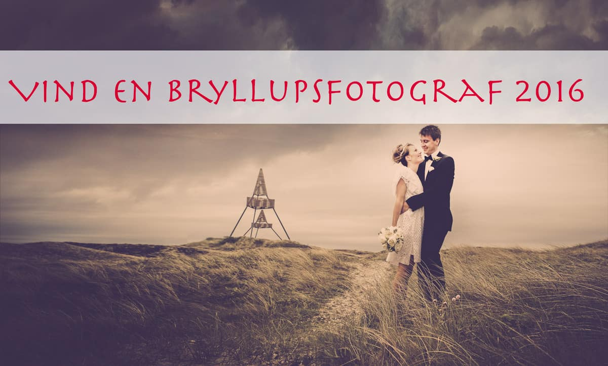Brudeparret Jesper og Heidi