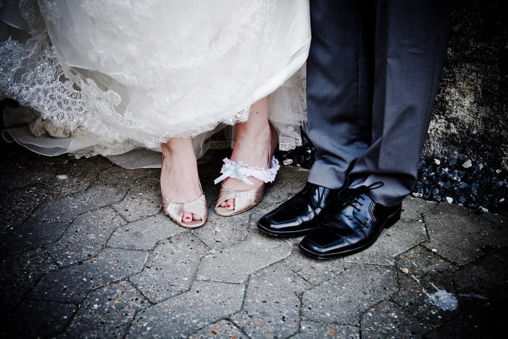 Brudeparret Camilla og Rasmus
