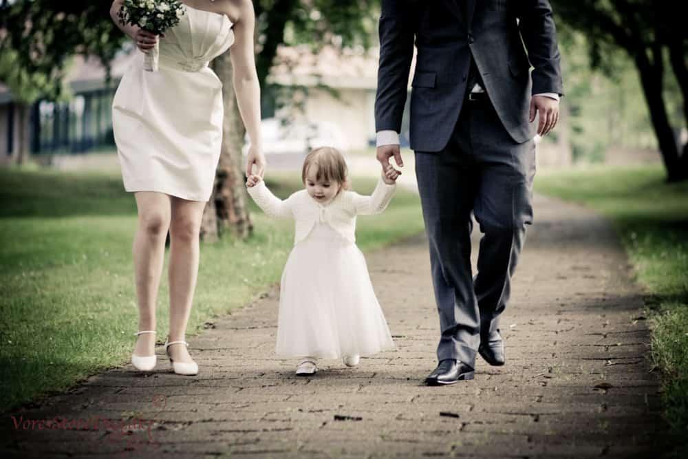 Brudeparret Alexander og Dorthe