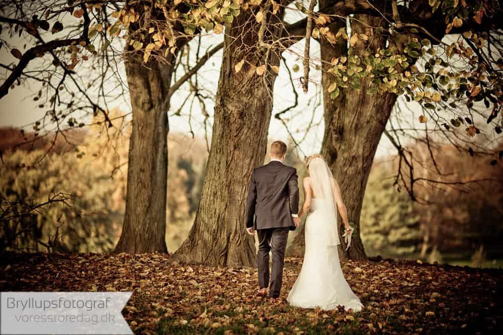 Brudeparret Tine og Mads