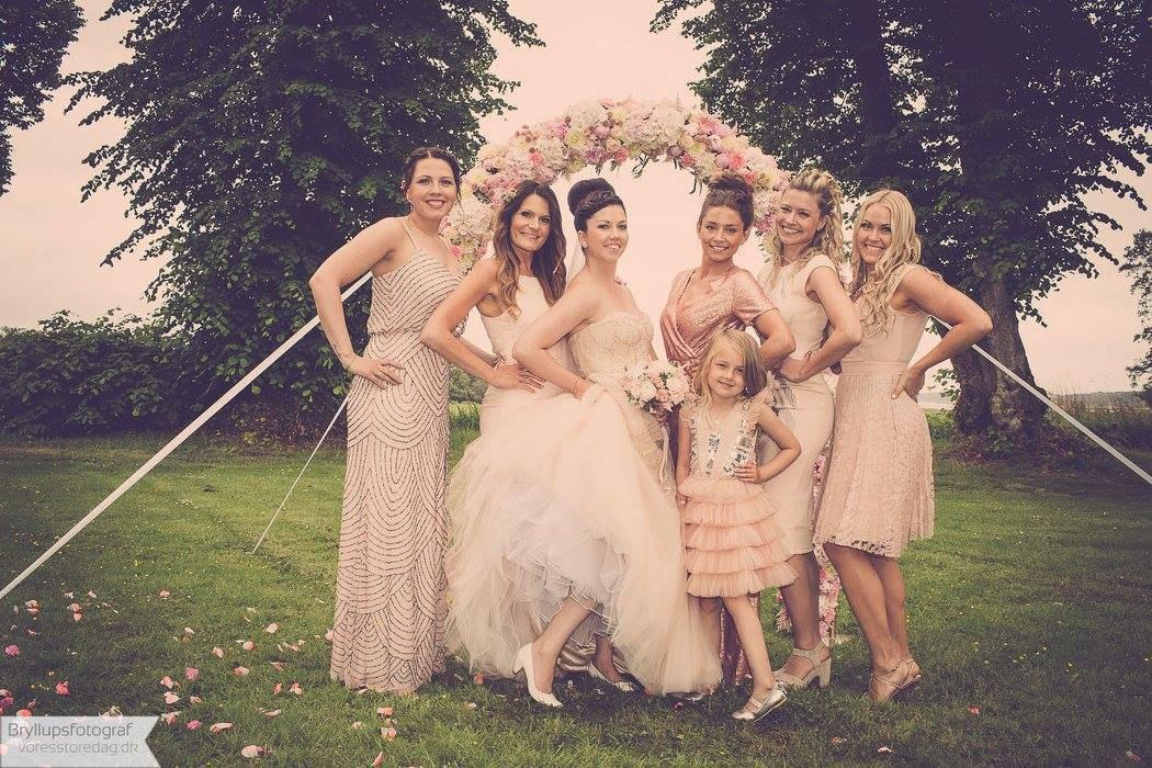 brud og brudepiger nordjylland