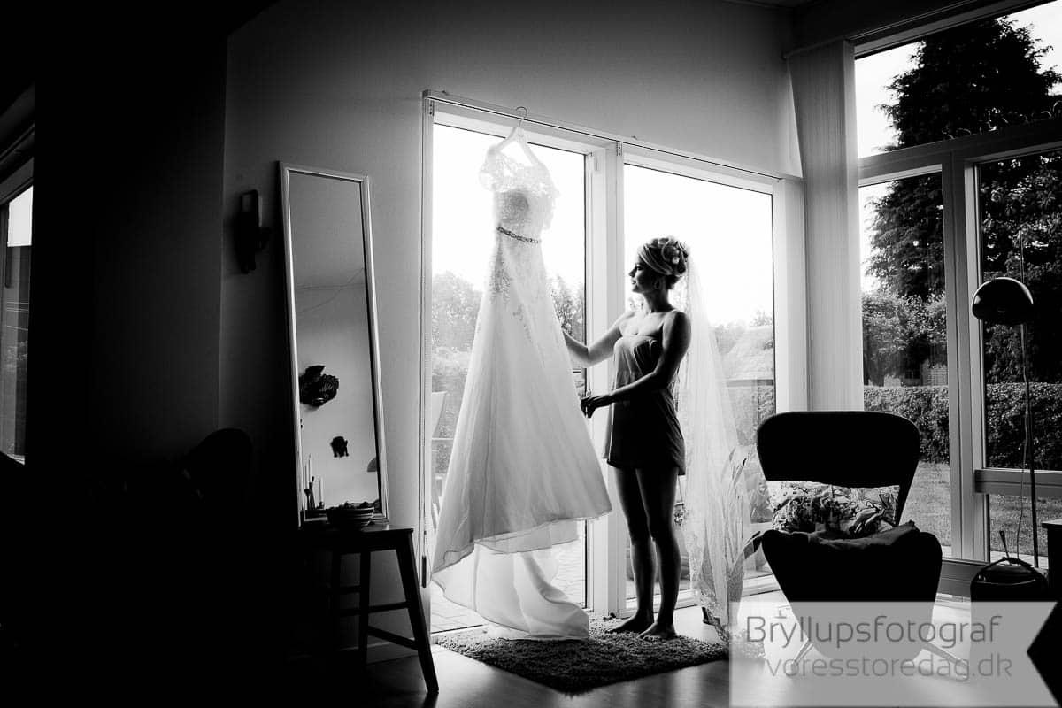 sort hvd bryllupsfoto