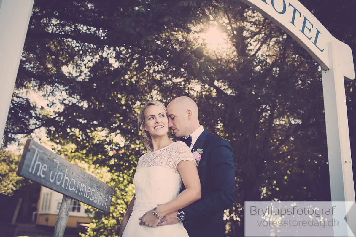 Bryllup Hjorths Badehotel Skagen