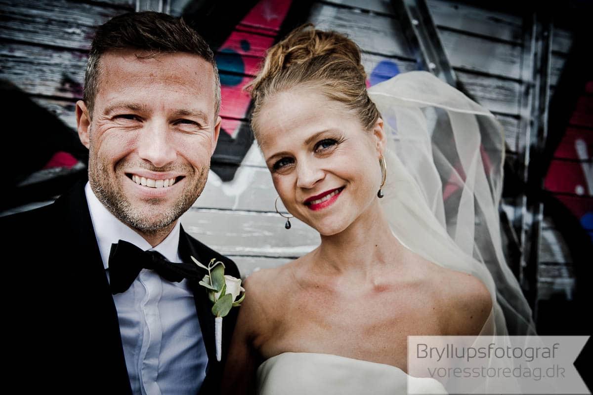 brudepar i København