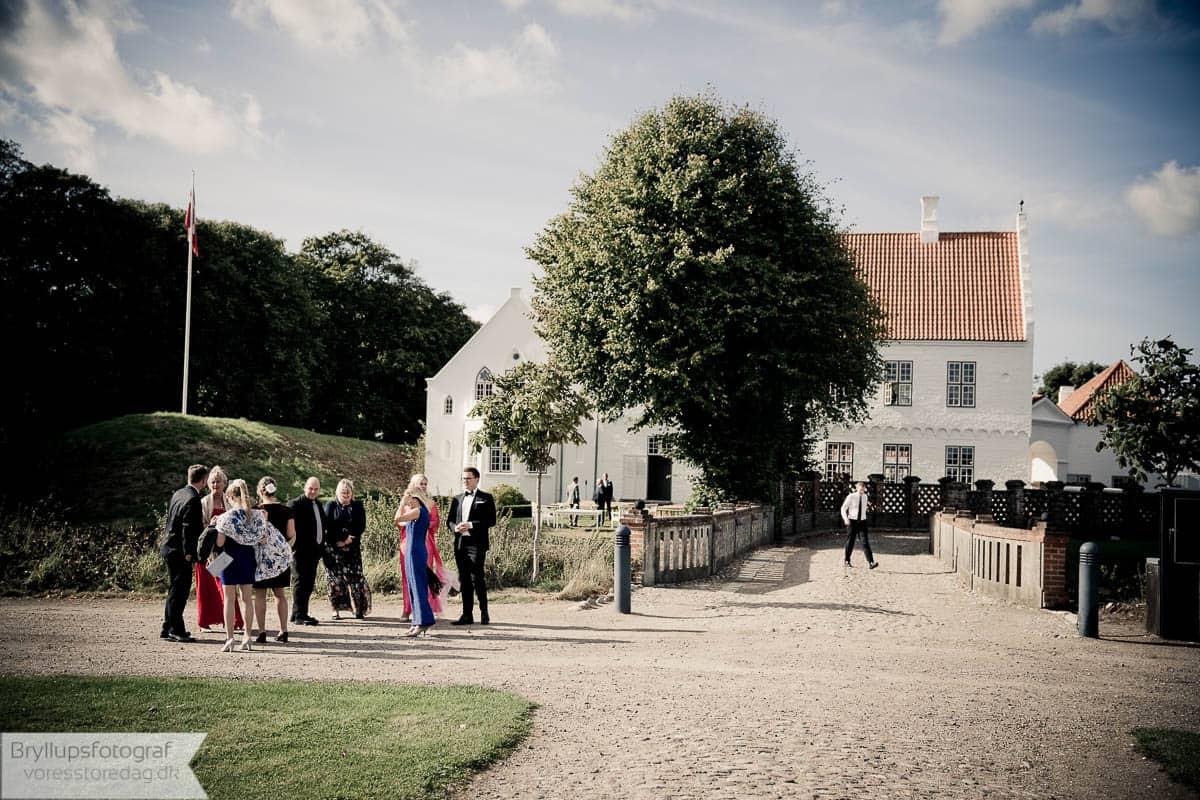 Bryllup Nørre Vosborg vestjylland