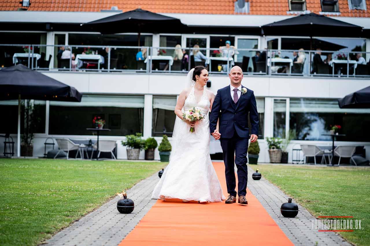 Bryllupsbilleder fra Scheelsminde Aalborg