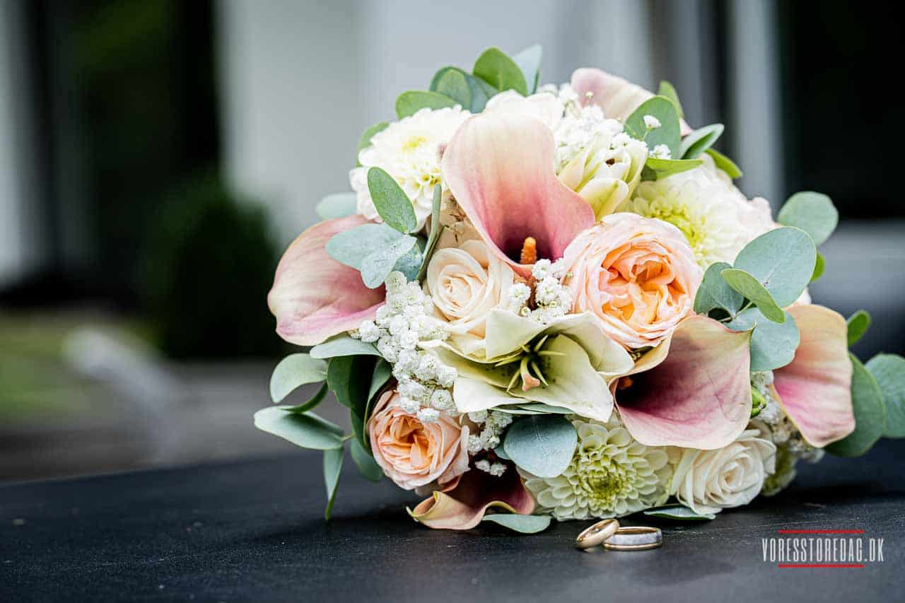 Hold et romantisk bryllup på Scheelsminde