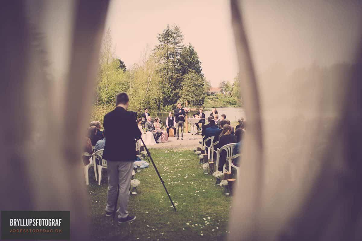 Bryllup på Kolding Internationale Højskole