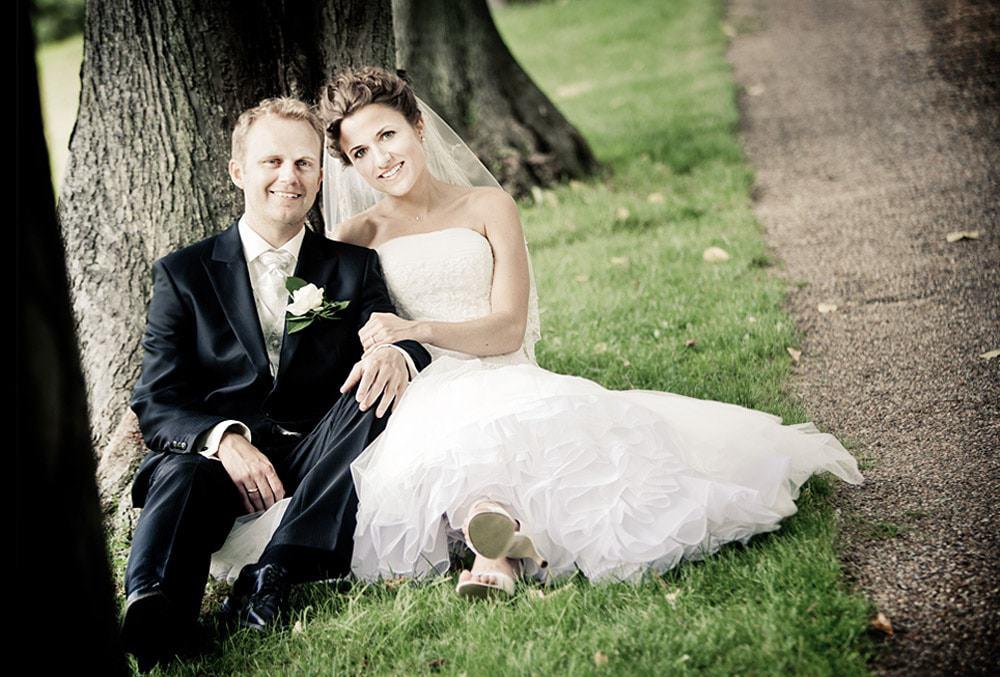 bryllupsfoto klampenborg