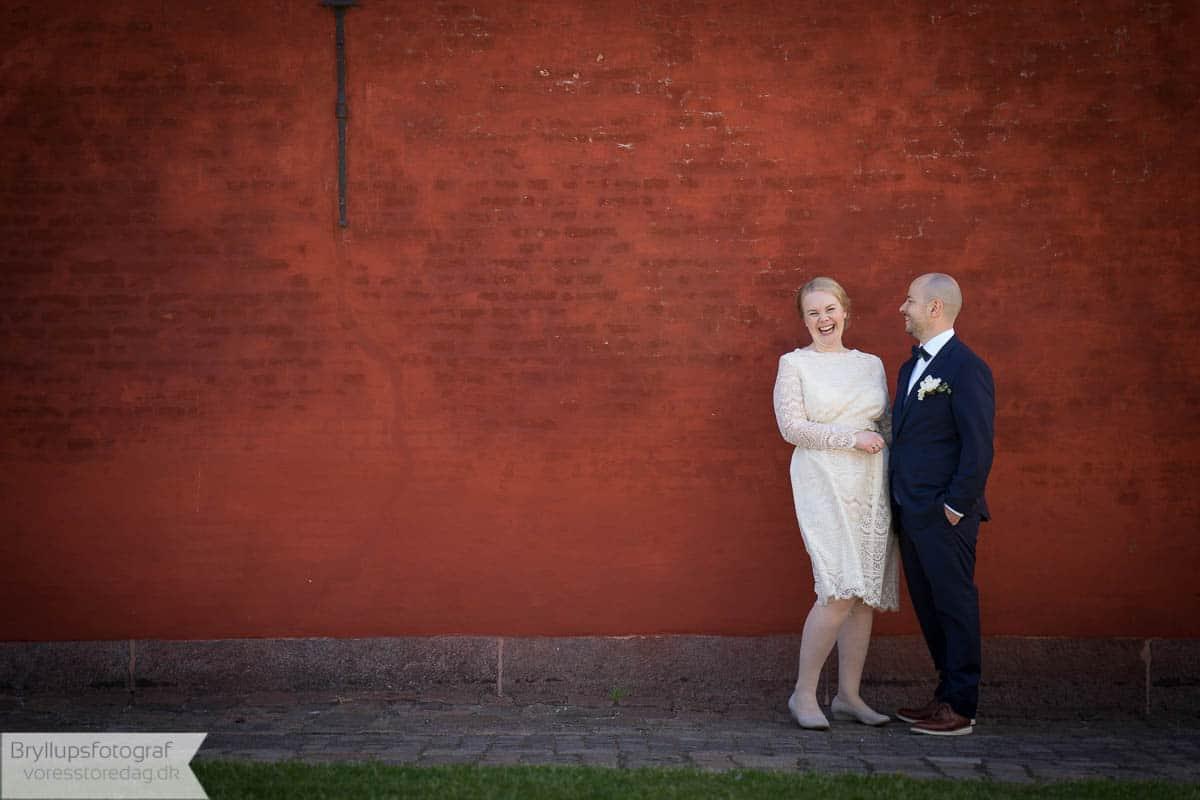 vi nyder at lave bryllupsfotos