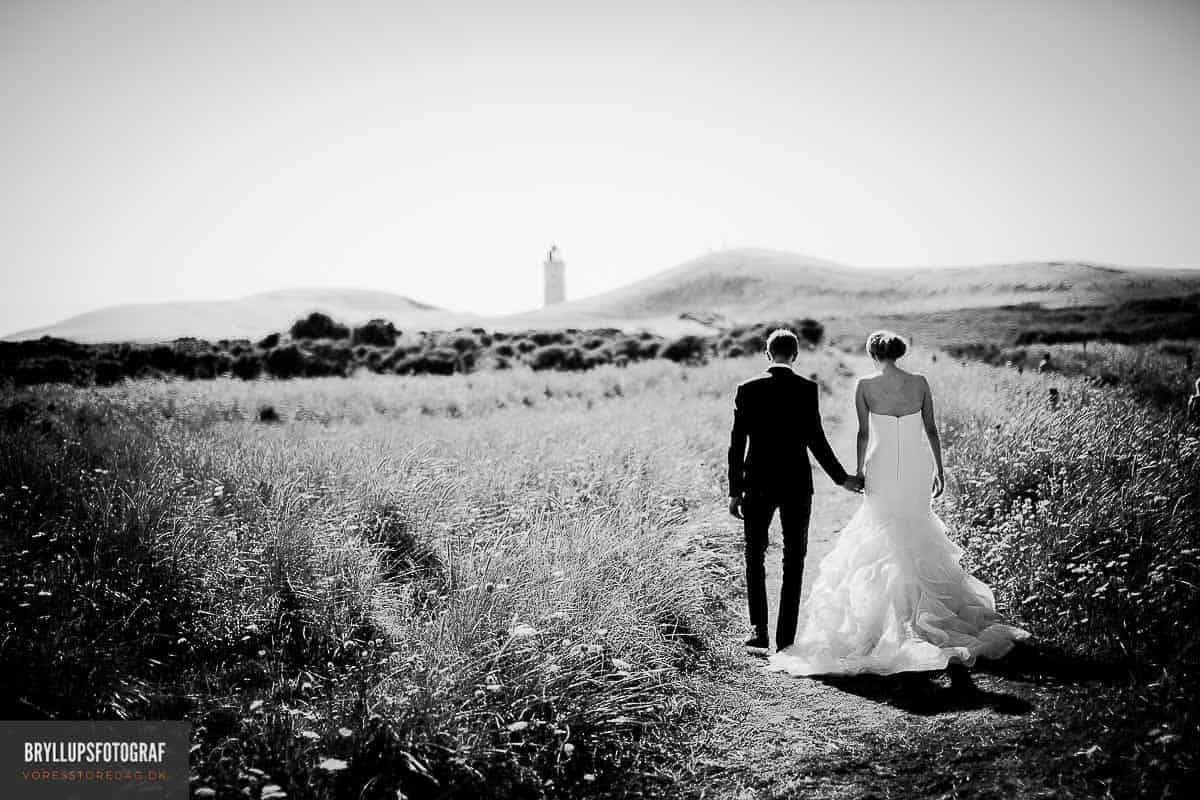 Slotsbryllup og bryllup på fyn