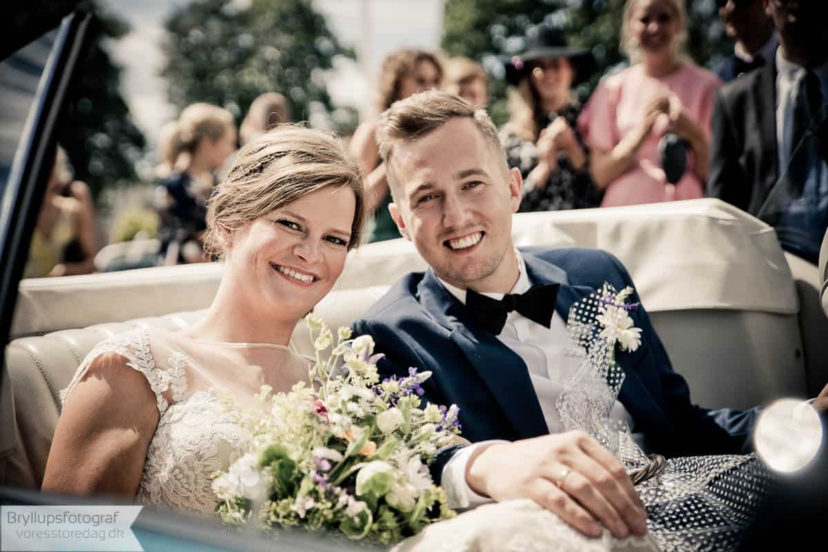 anerledes form for bryllupsfotografering i Herning