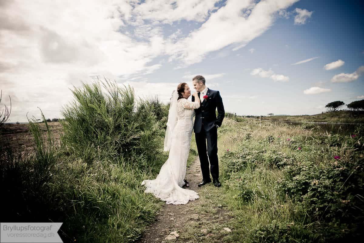 Bryllupsfotografering Odense med masser erfaring