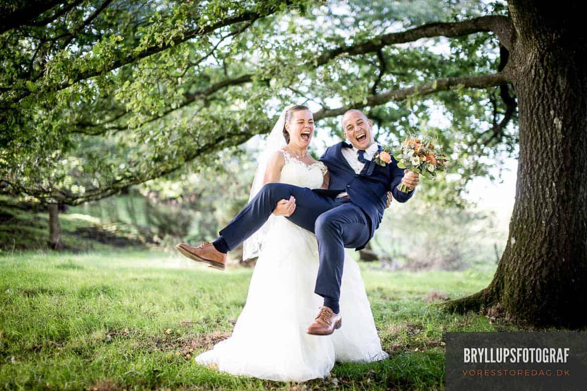 Romantisk Bryllup på Odense Å