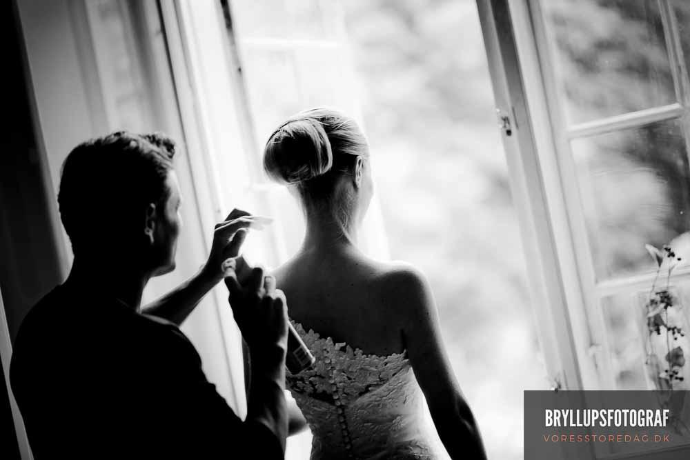 hår og makeup bryllup københavn