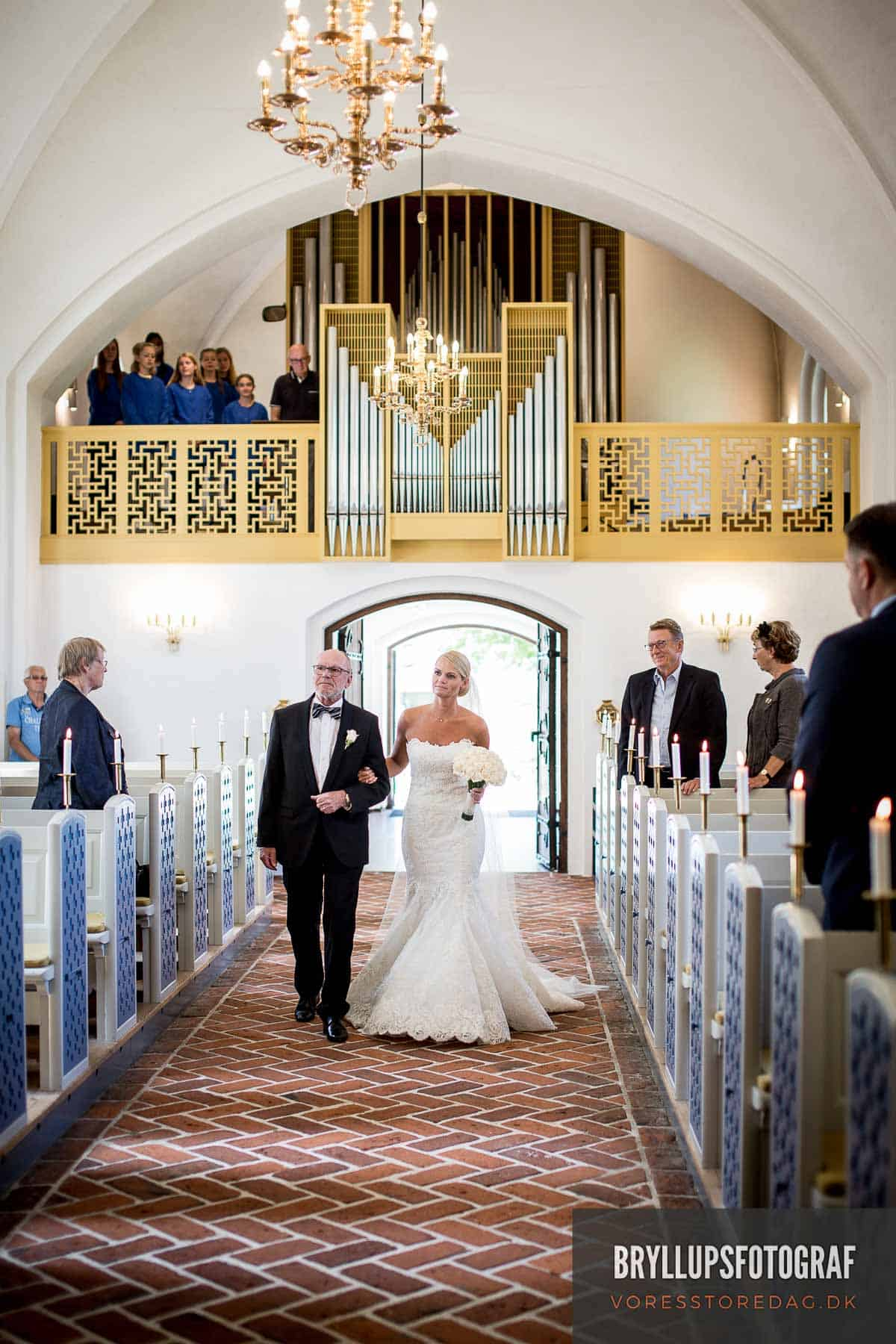 Mølholm Kirke koret