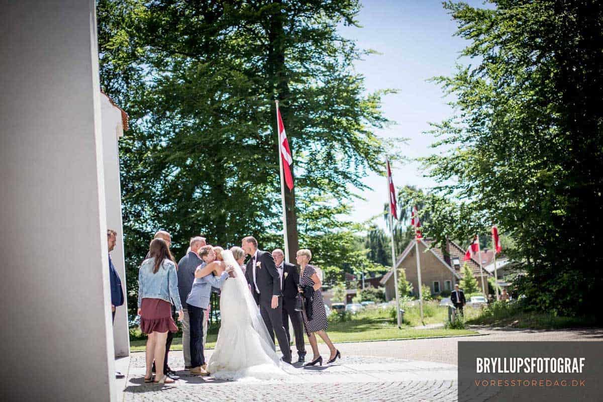 bryllupper Mølholm Kirke