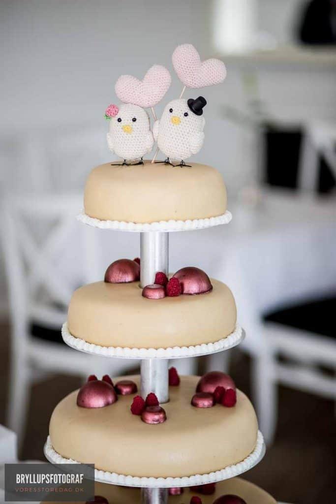 svensk bryllupskage