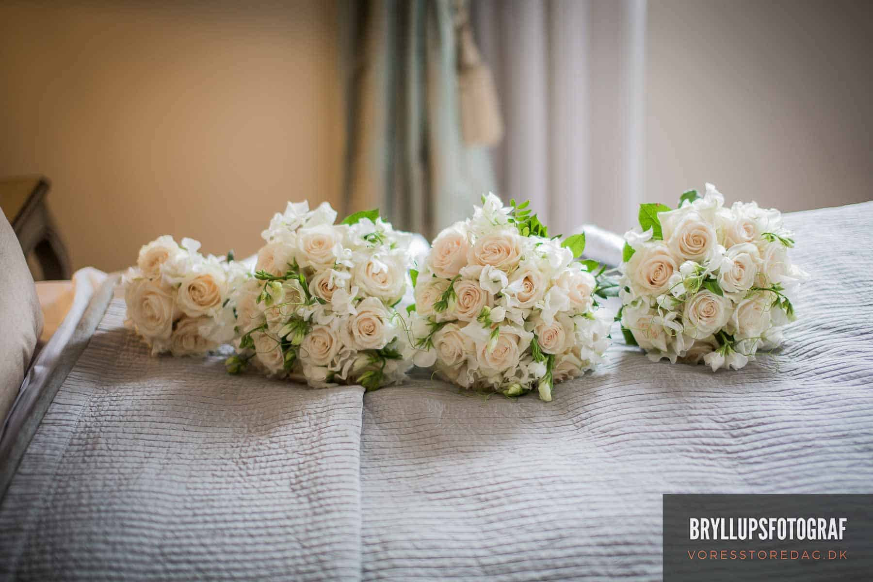 blomster bryllup