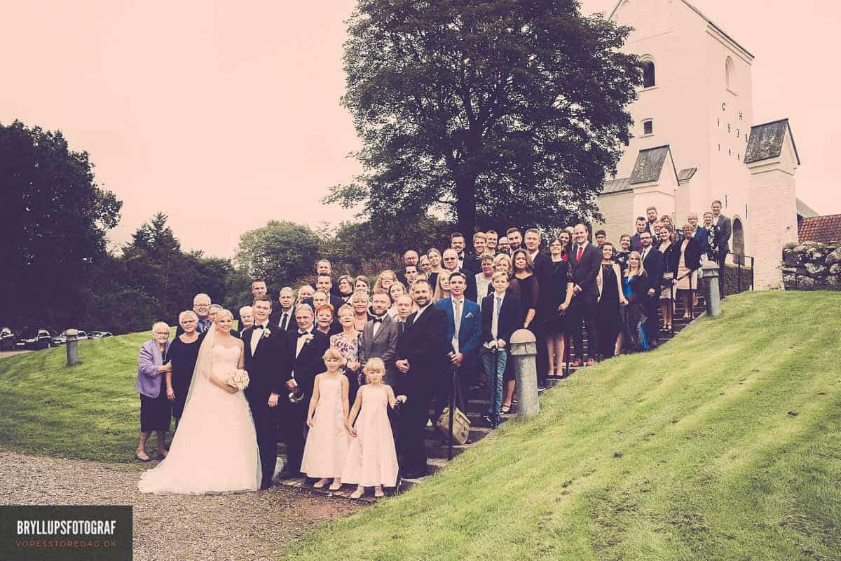 Familiefotografering ved bryllupsfotograf