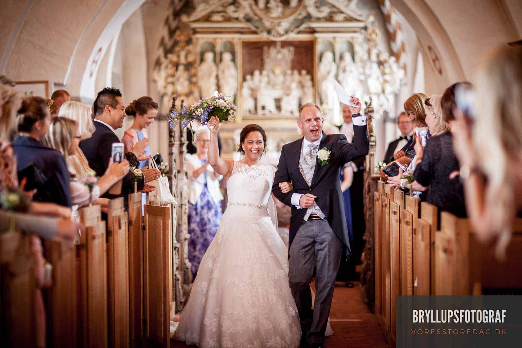 Wedding photographer - civil marriage in Ebeltoft