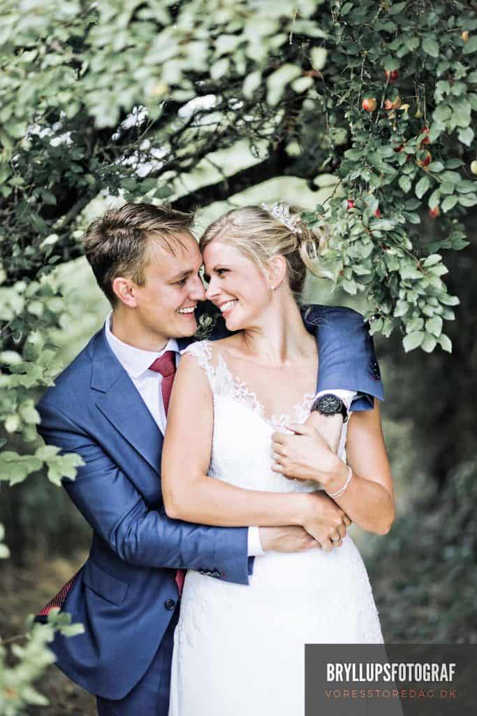Jomfrubakken bryllup fotograf