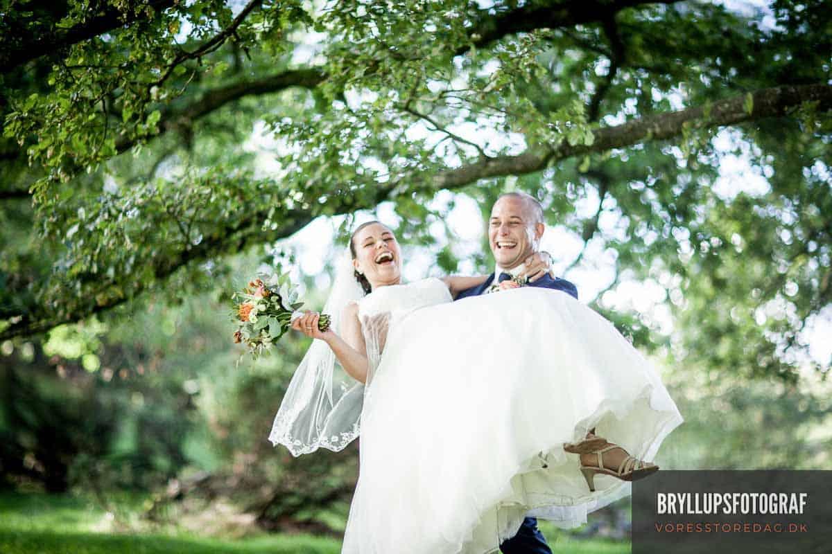 Bryllupsbilleder med personlighed