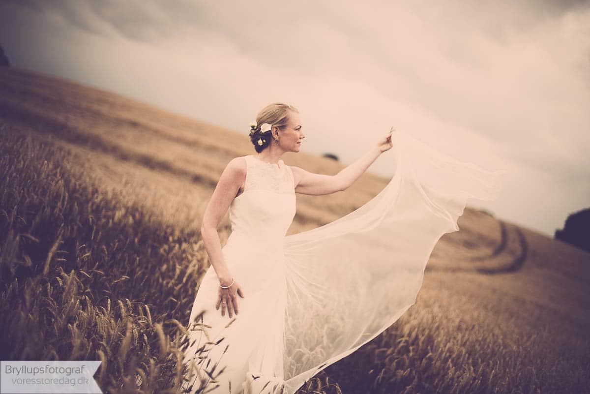 brudens drømmekjole