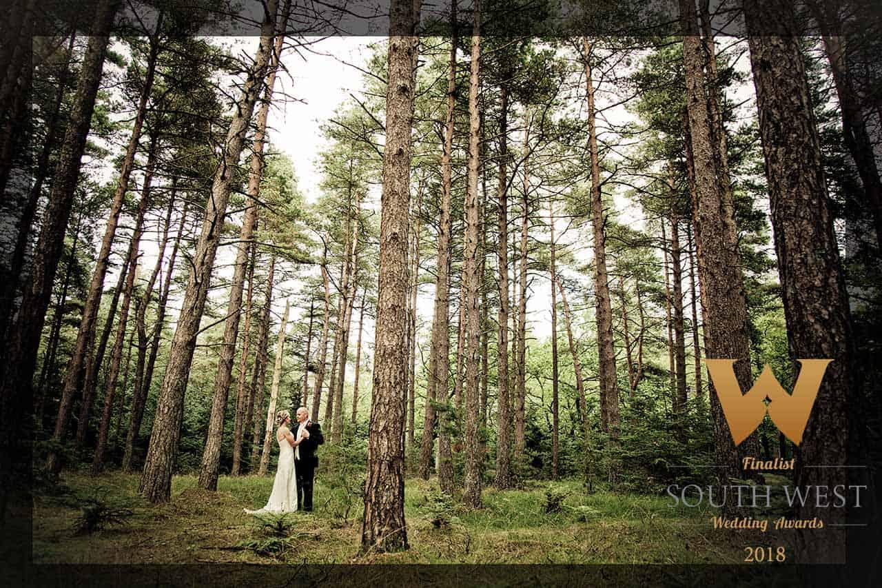 Brudeparret Michala Katrine og Niels