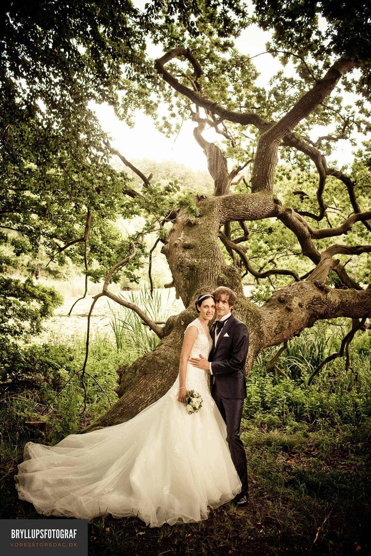 Billeder fra et smukt bryllup i Aalborg