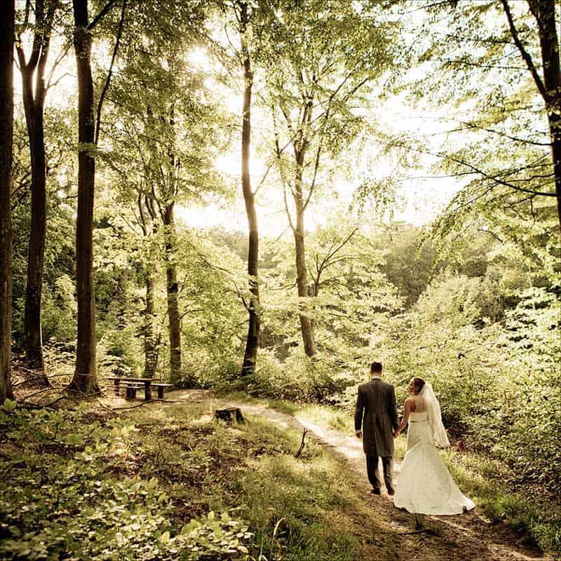 bryllups fotograf Den røde Cottage