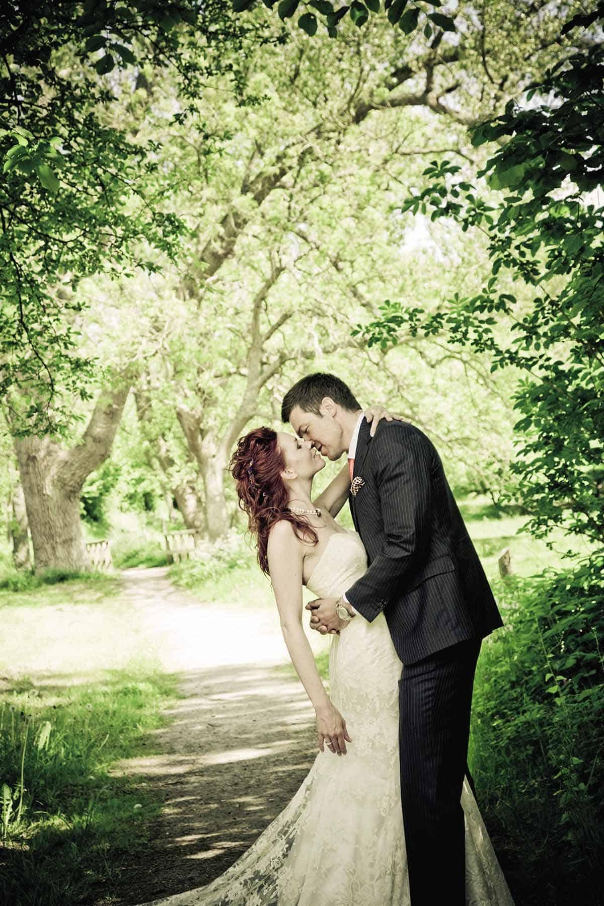 bryllup som i eventyret