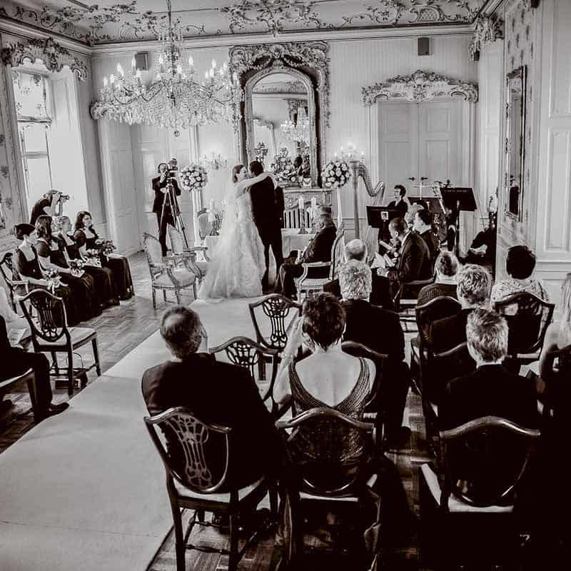 hvedholm slot bryllupsfoto