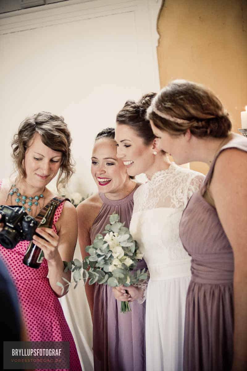 fotograf ved bryllup