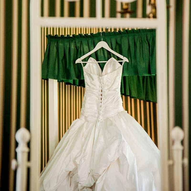 brudekjole lykkesholm slot