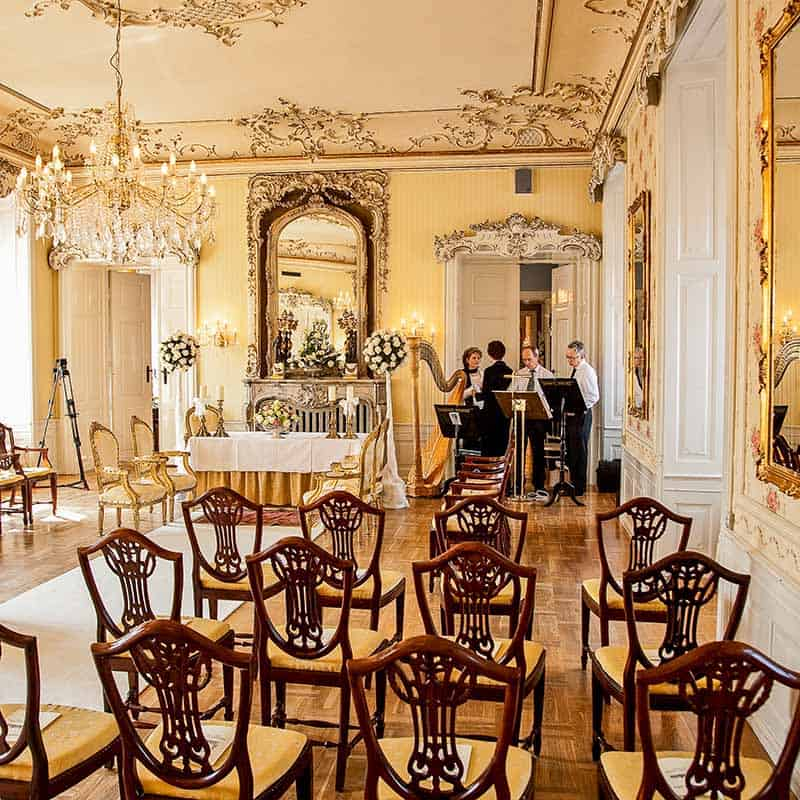 Hvedholm slot bryllup