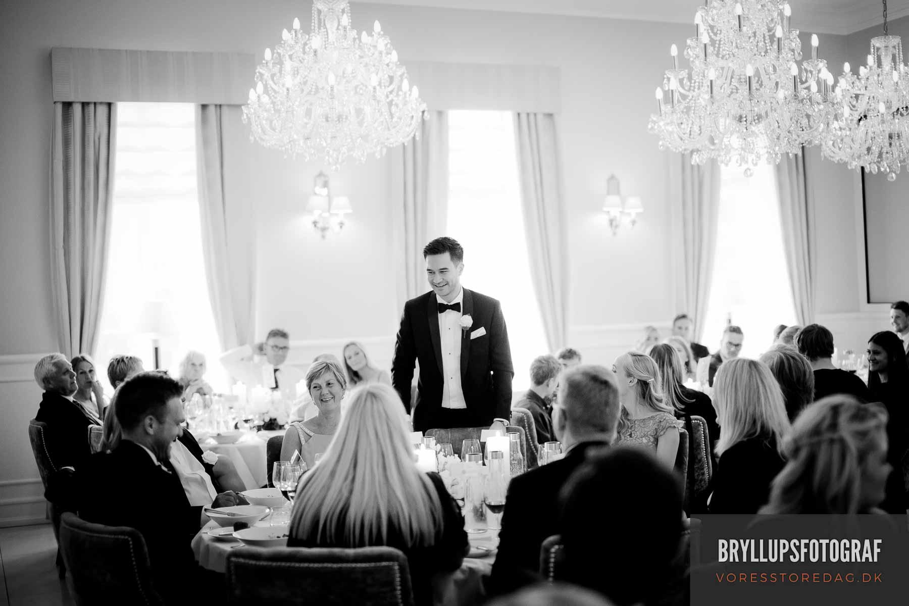 tale til bryllup kokkedal slot