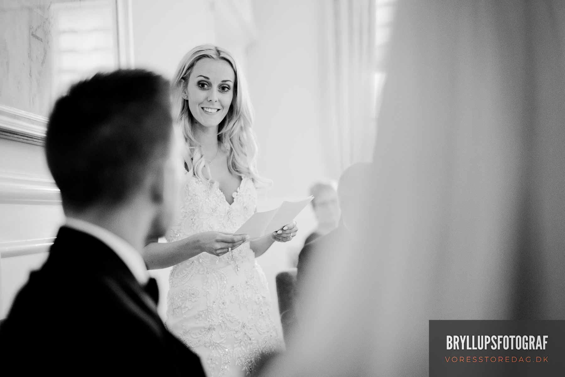 brudens tale til gommen kokkedal slot