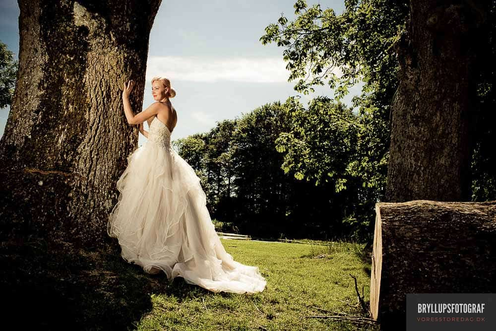 bryllupsfotograf Slosthotel Booking Vraa Slotshotel.
