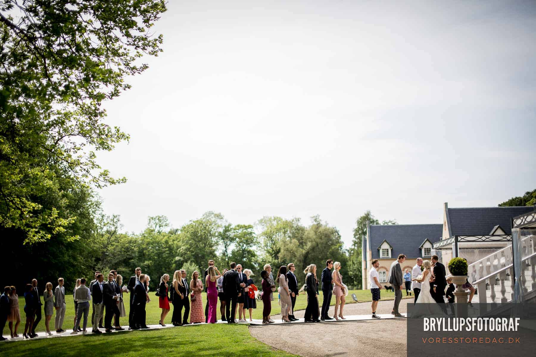 lykønskning kokkedal slot bryllup