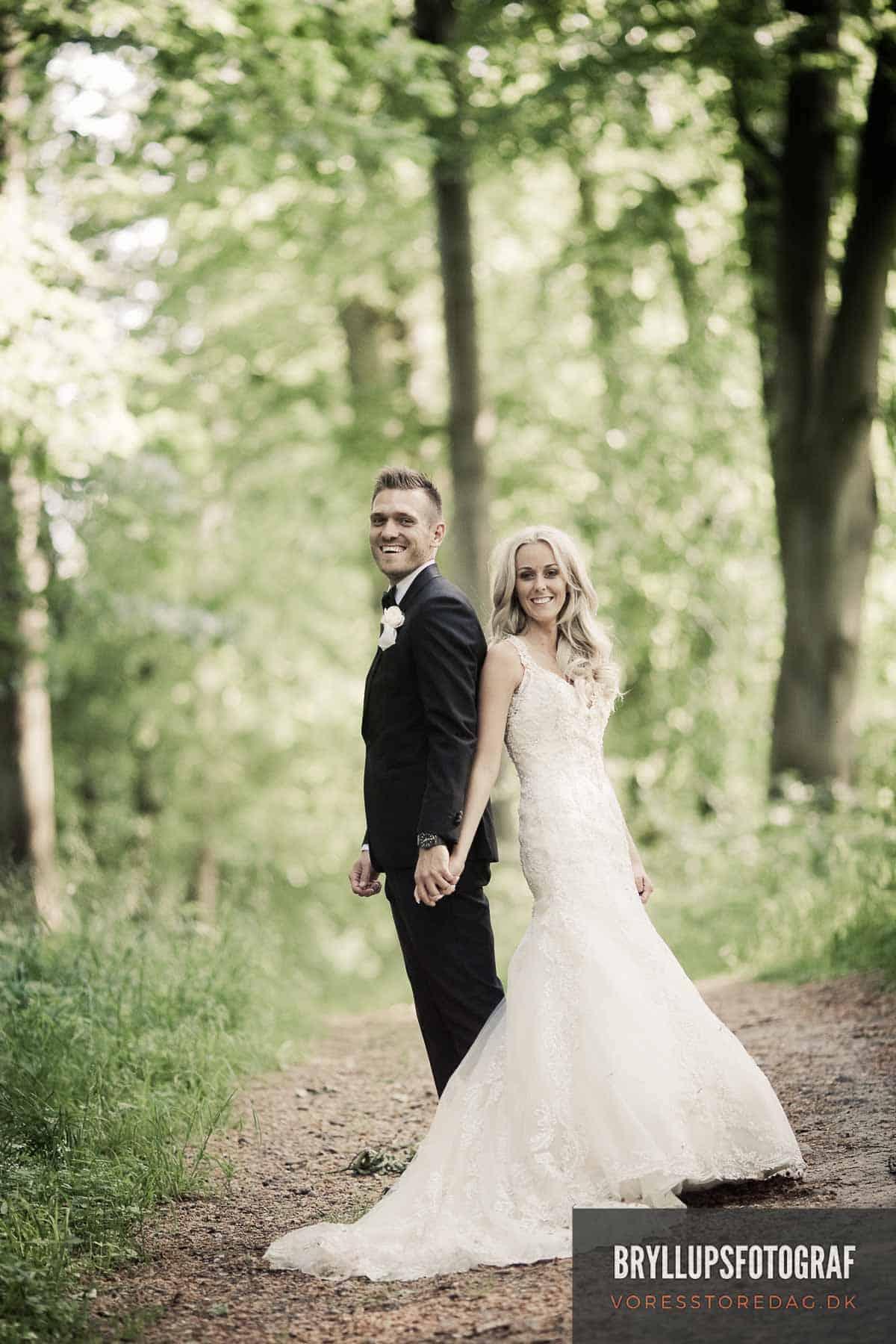 Bryllup ved vandet i Roskilde