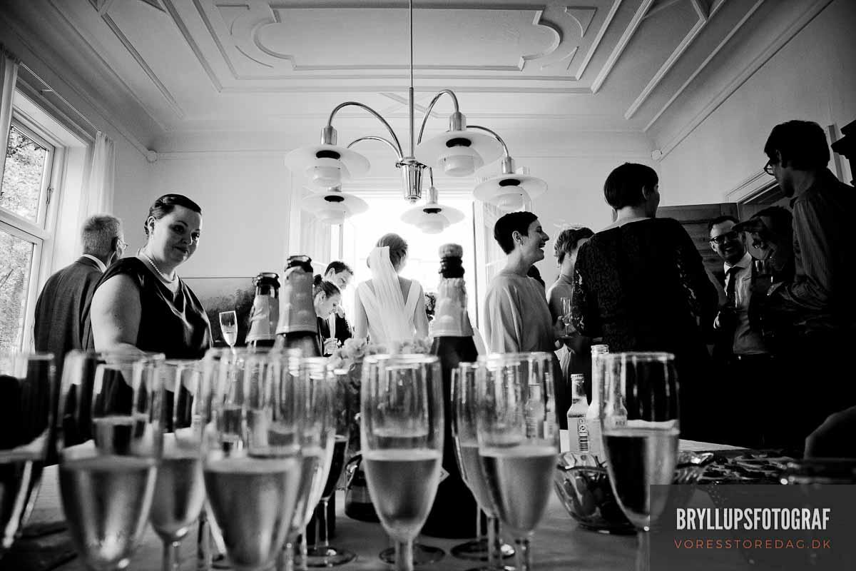 bryllupsfotograf Gammel Vraa - Danske Herregårde