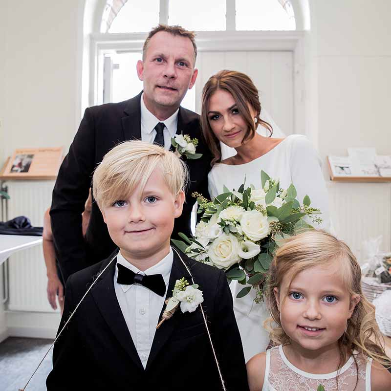 Bryllupsfotograf Køge der er kreativ, stilfuld og personlig