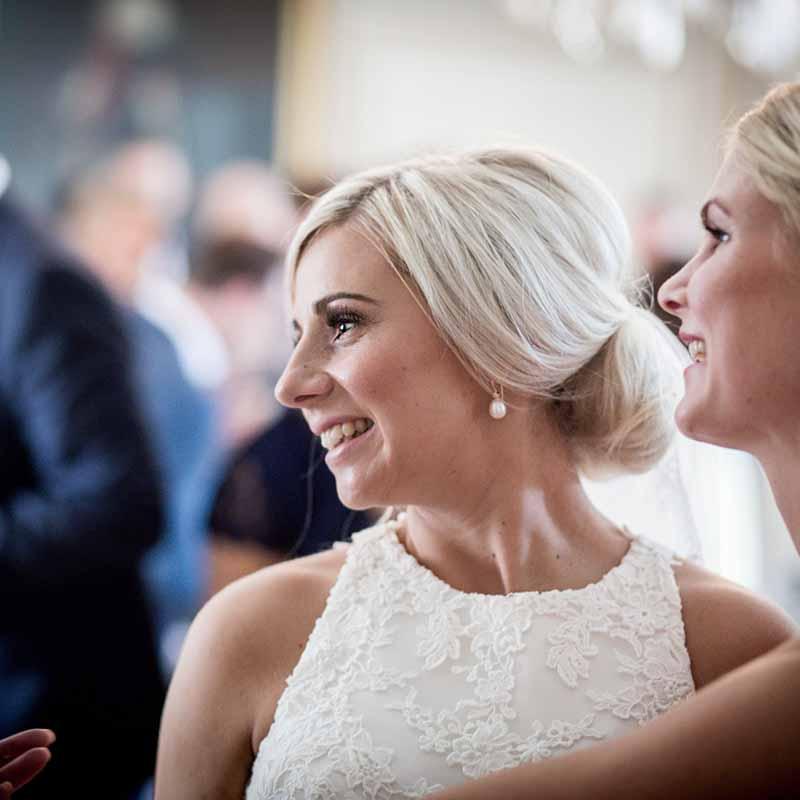 bryllupsfest med overnatning