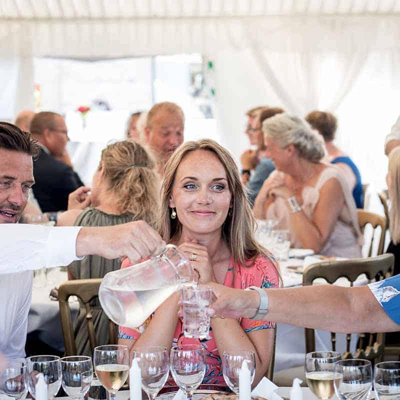 Hindsgavl Slot bryllup - Bryllupsfotograf Vores Store Dag