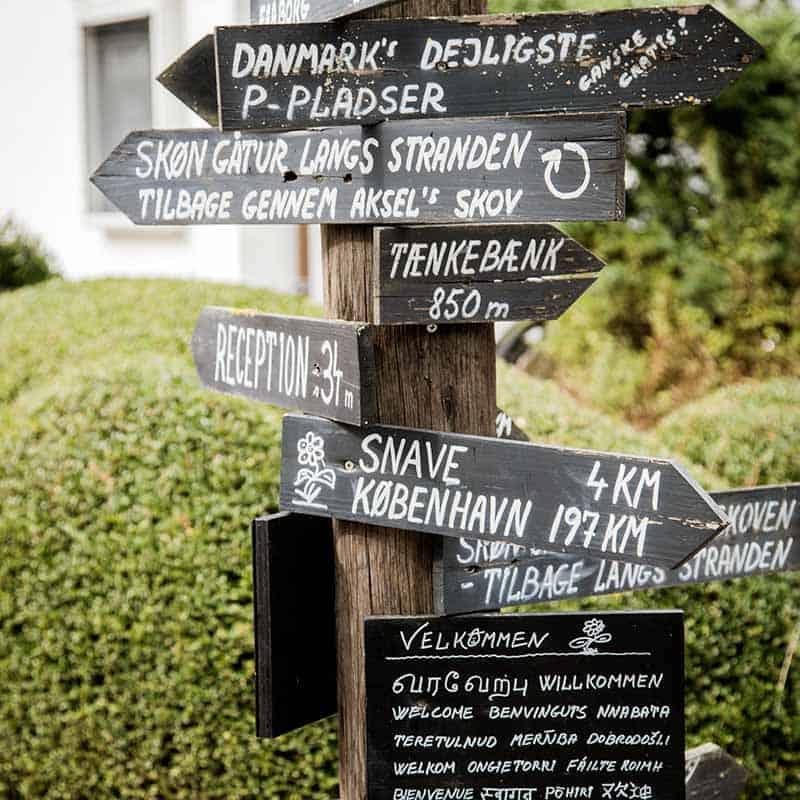 Bryllup på Hotel Hesselet i Nyborg på Fyn med Danmarks bedste udsigt