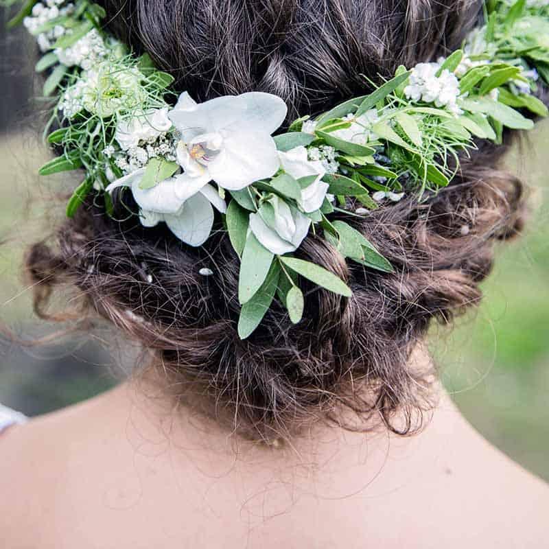 brudens hår