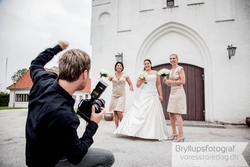 Book bryllupsfotograf Vores Store Dag til jeres bryllup lige her.