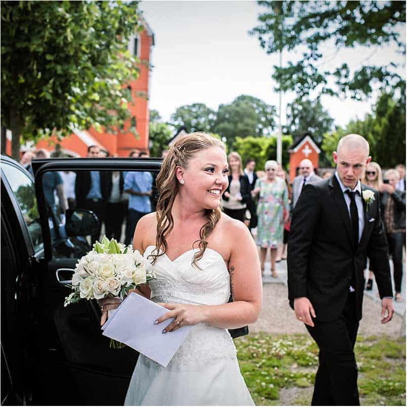 brud og bryllupsbil Rødvore