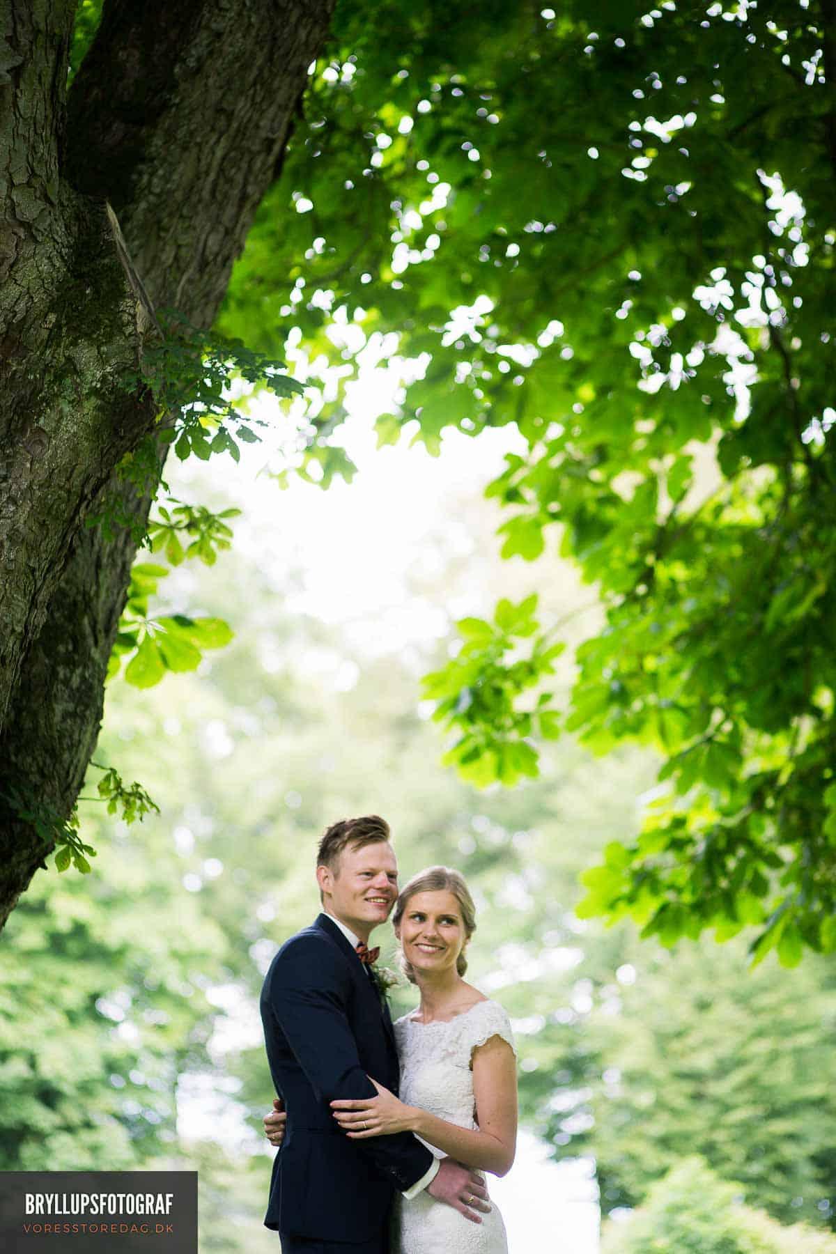 Smukt bryllup på romantiske Sebber Kloster